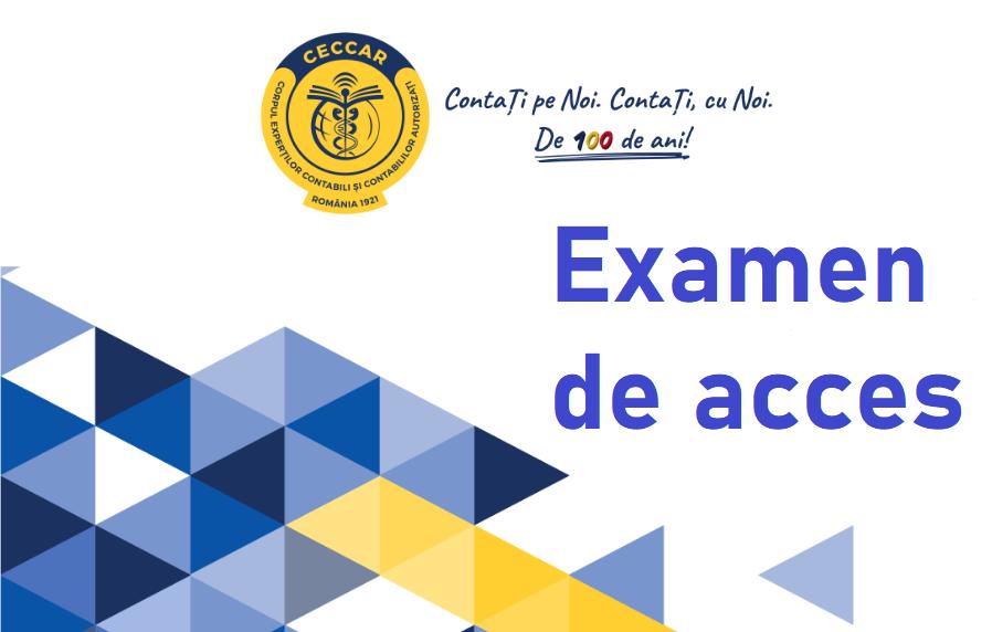 Examen acces